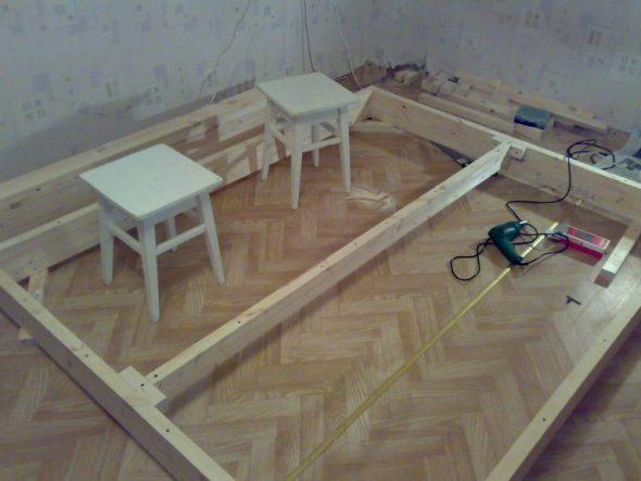 Короб для кровати