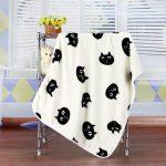 Милое одеяло с кошками для малыша