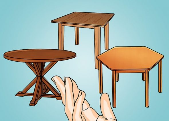 Стол для скатерти