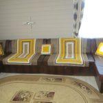 Солнечное покрывало на диван из пяти предметов