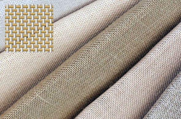 Ткань поплин с плетением