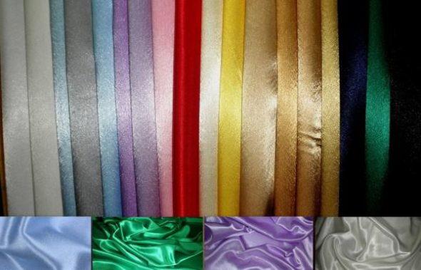 Цветовые решения сатин