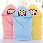 """Разноцветные одеяла с уголком """"Обезьянки"""""""
