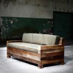 Самодельный диван из бюджетных материалов