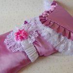 Шикарный атласный плед-одеяло с кружевом
