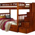 Сосновая двухъярусная кровать