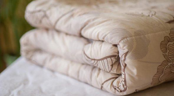 Закрытые шерстяные одеяло
