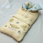 Бежевое одеяло-трансформер для малыша