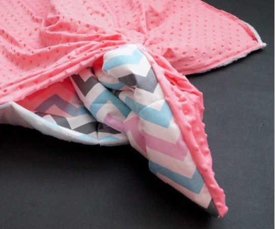 Выворачиваем одеялко