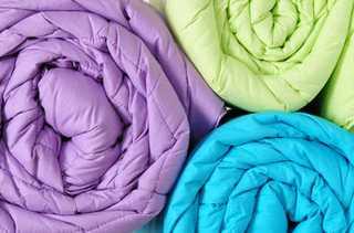 Стирка и чистка для разных одеял
