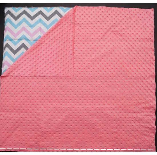 Сшиваем лицевые стороны одеяла