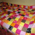 Лоскутное одеяло квадратами