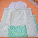 Необычное одеяло своими руками на выписку малыша