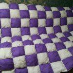 Объемное лоскутное одеяло своими руками