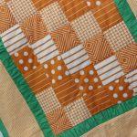 Одеяло своими руками в коричнево-зеленых тонах