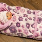 Милое одеяло цветочками для девочки