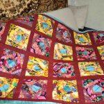 Оригинальное клетчатое одеяло ручной работы