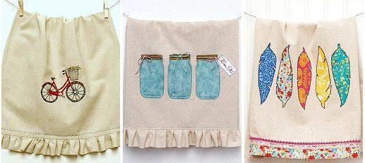 Оригинальные и эффектные полотенца