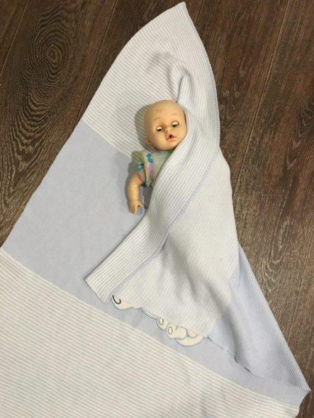 Расстилаем одеяло по диагонали