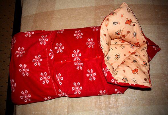 Разноцветное одеяло-конверт
