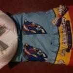 Стильное одеяло-трансформер для будущего гонщика