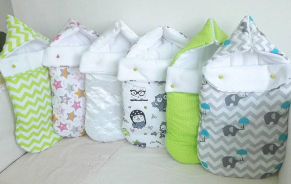 Выбираем детское одеяло-конверт