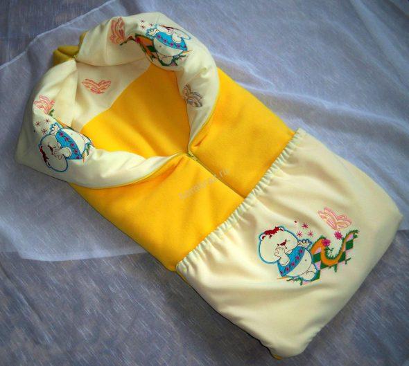Яркое одеяло-трансформер