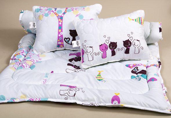 Детское одеяло Cat