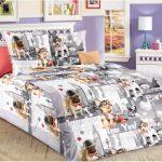 Бязевое постельное белье для ребенка школьного возраста