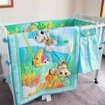 Детское одеяло на морскую тематику