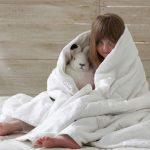 Детское стеганое одеяло для подросших детей