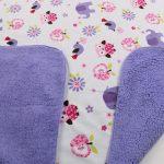 Двустороннее детское одеяло для самых маленьких