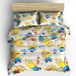 Комплект детского постельного с миньонами