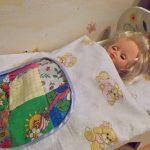 Комплект для кукольной кроватки своими руками