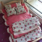 Комплект постельного с простынью, одеялом и подушками
