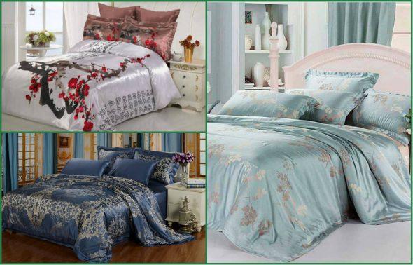 Красивые комплекты постельного