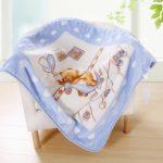 Квадратный плед-одеяло для новорожденного