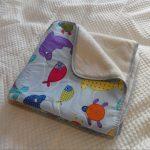 Одеяло шерстяное двухстороннее для малыша