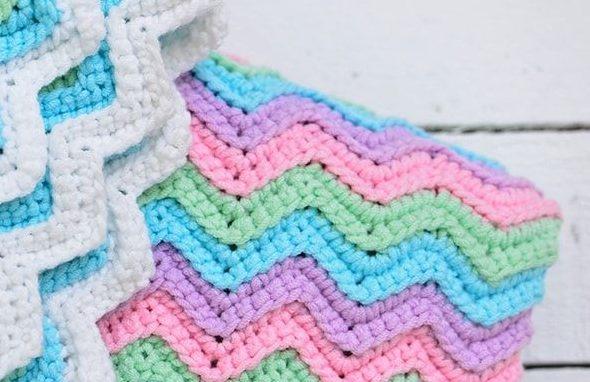 Оттенки светлых тонов для детского пледа
