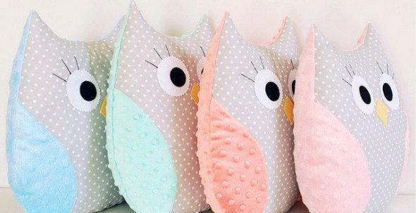 Подушки-игрушки