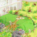 """Постельный комплект """"Африка"""" в кроватку малыша"""