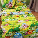 """Постельное белье """"Смешарики"""" для детской кроватки"""