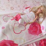 Постельный комплект для небольших куколок