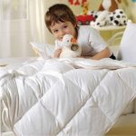 Теплое пуховое одеяло для ребенка дошкольного возраста
