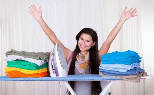 Правильно гладить постельно
