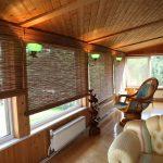 Деревянный потолок в утепленной террасе