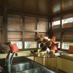 Мойка на кухне дачного домика