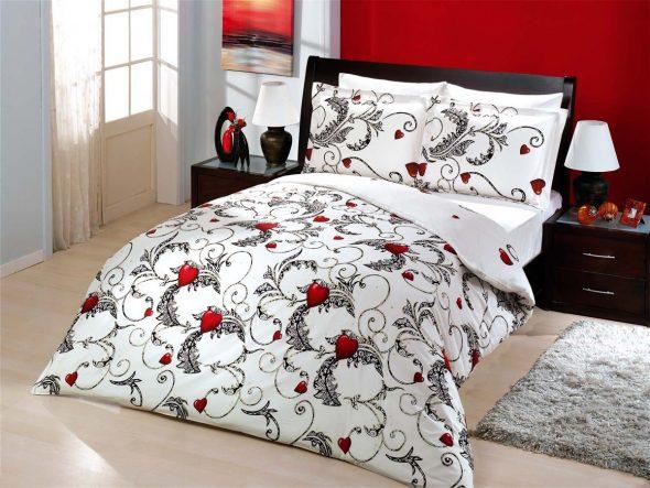 Красивый постельный комплект