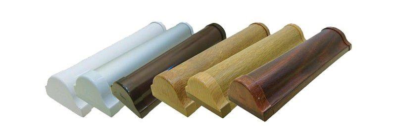 Короба для кассетной шторы различного цвета