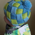Детская шапочка в стиле энтерлак